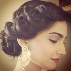 Marvelous 12 Bollywood Inspired Indian Wedding Hairstyles Hairstyles For Women Draintrainus