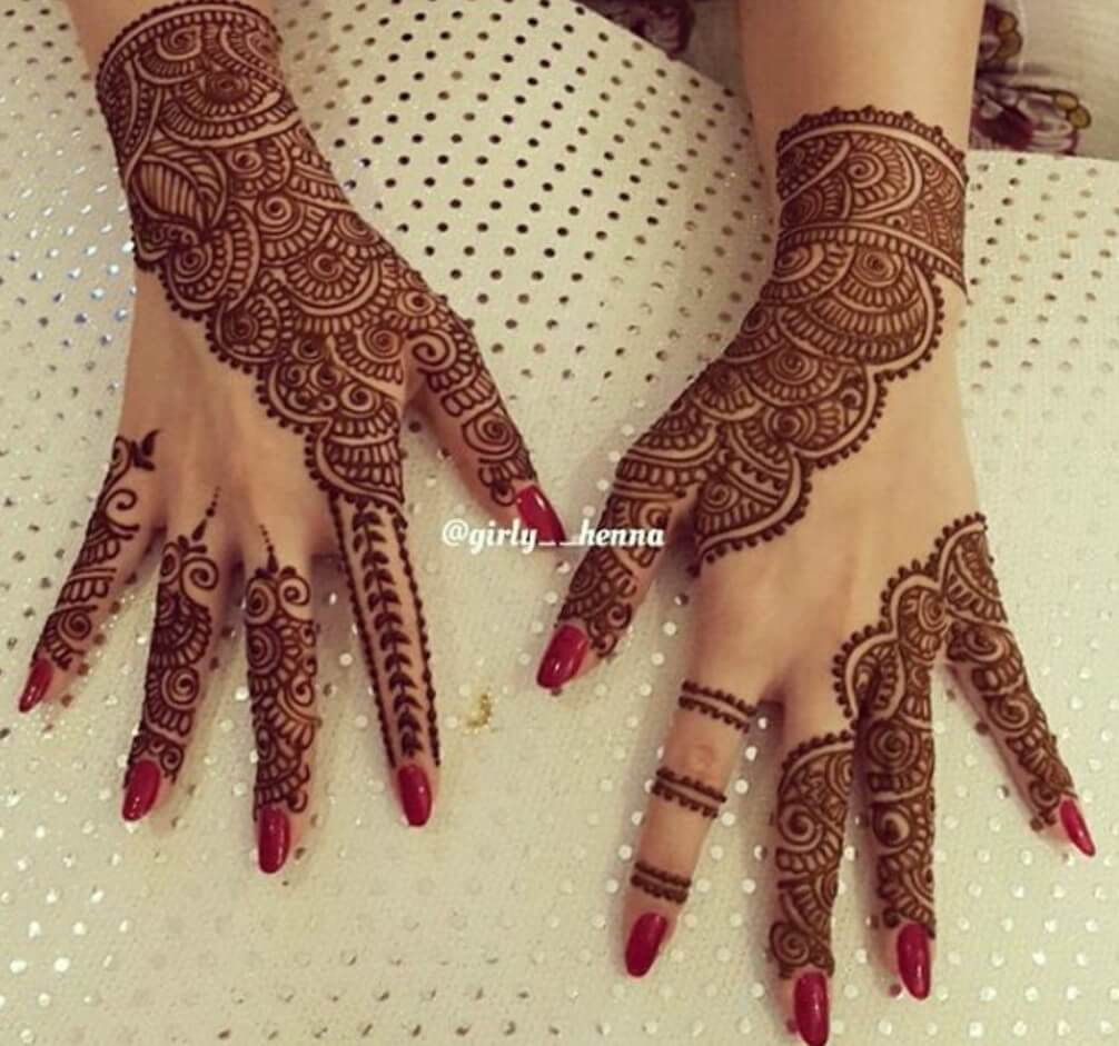 Mehndi Patterns Instagram : Image gallery henna designs instagram
