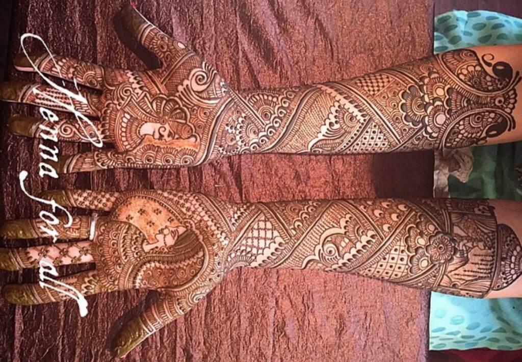 Henna Hand Painting London