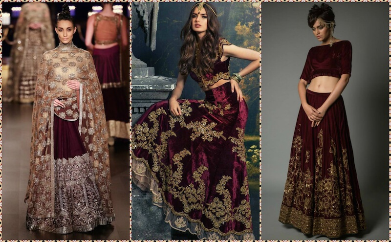 8 High Fashion Lehenga Colors That Are Beyond The Bridal Red