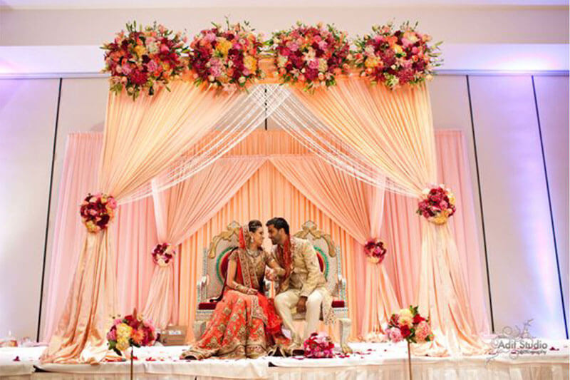 10 trending color schemes you need to consider for your for Home decor ideas for indian wedding