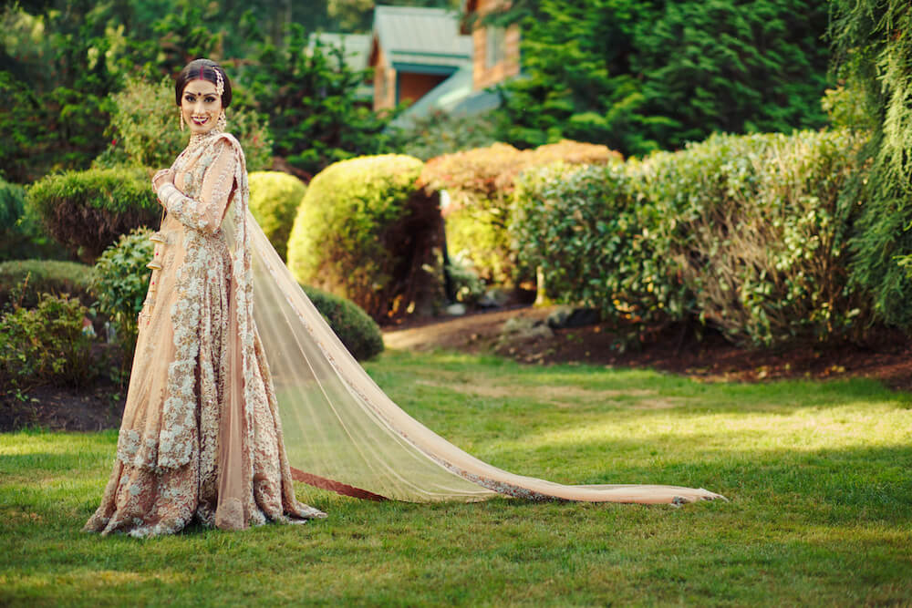 Remina and bhavjit 39 s magical maharani maharaja wedding for Indian wedding dresses new york