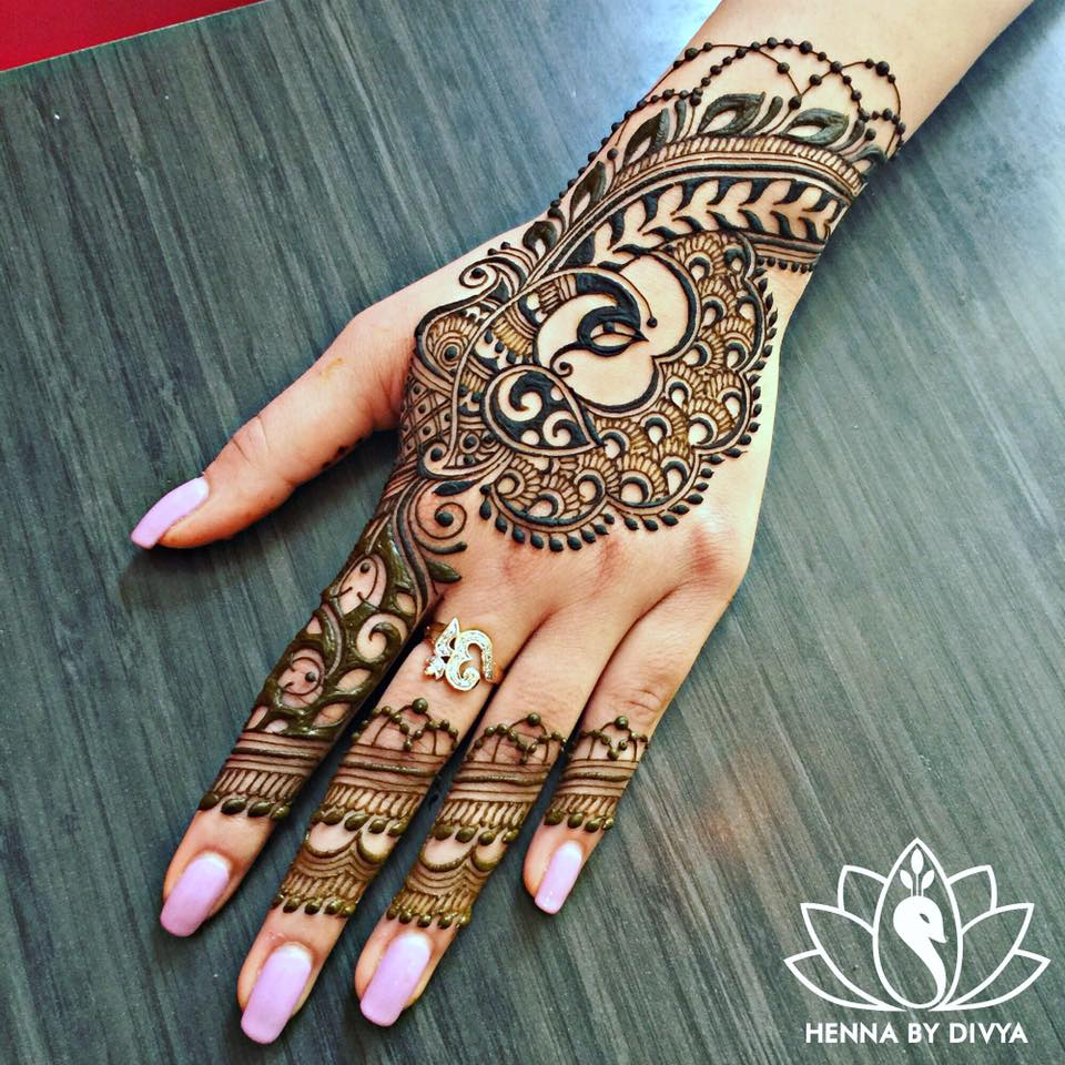 Mehndi Patterns Instagram : Young henna prodigy whose jaw dropping designs are taking