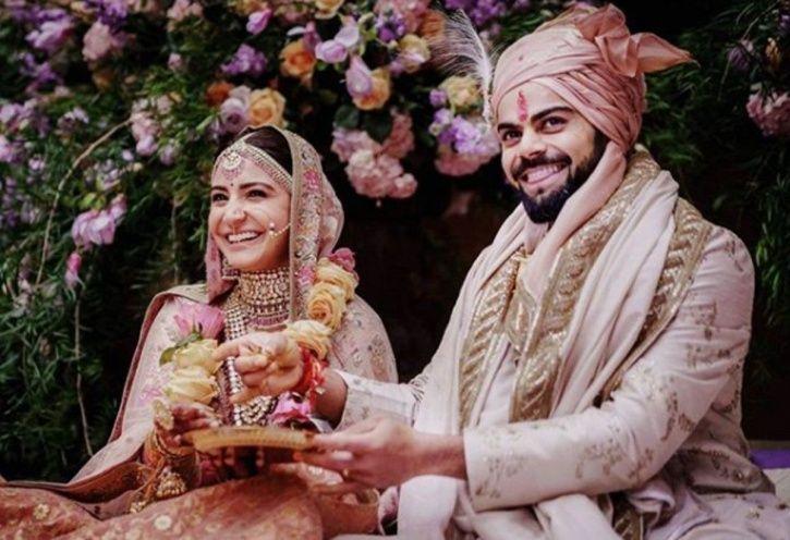 Virat Anushka Wedding moment