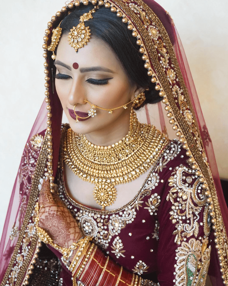 indian bride makeup