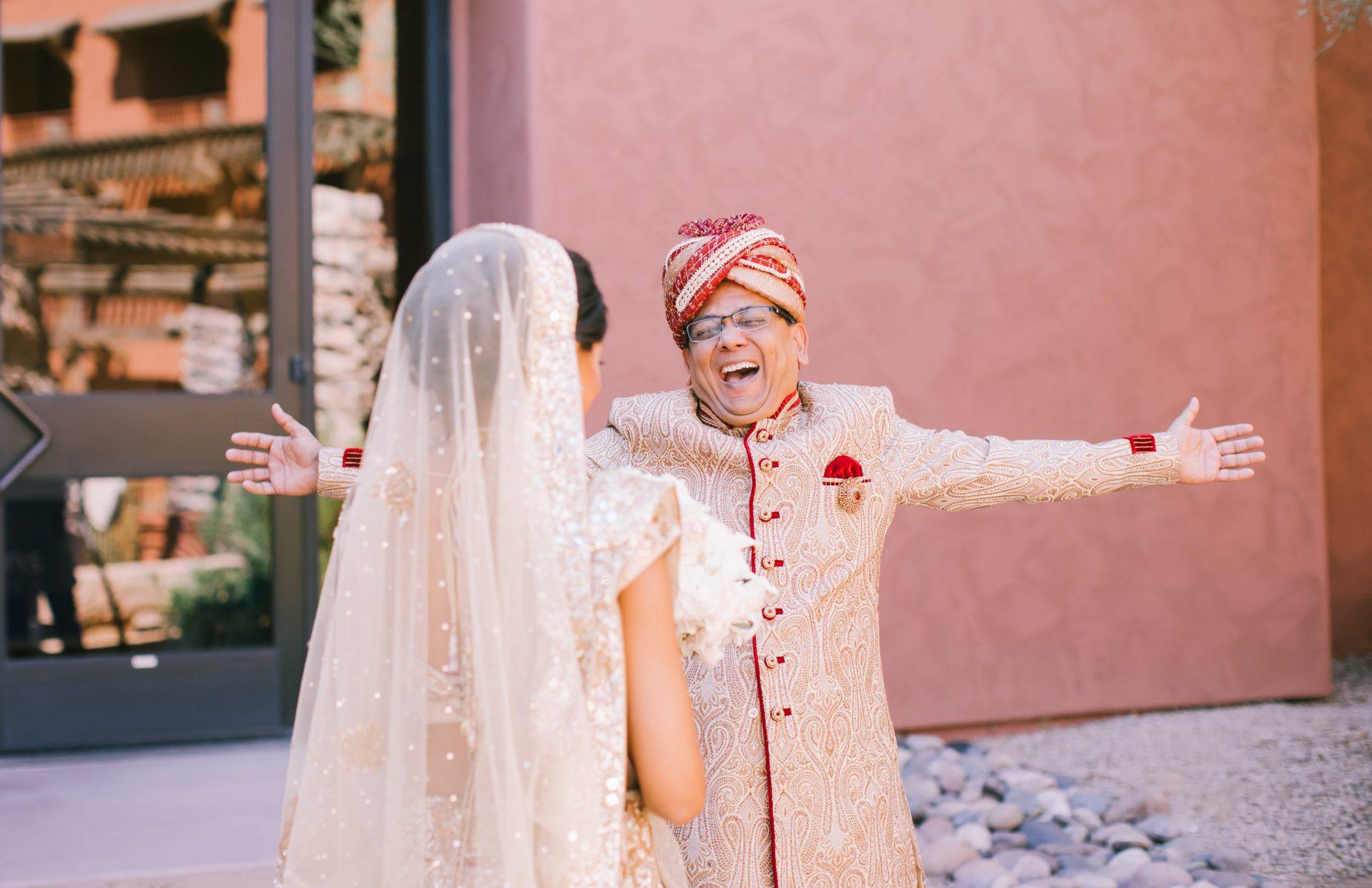 Bride And Groom Recreate Disney S Royal Aladdin With A Grand Elephant Entrance