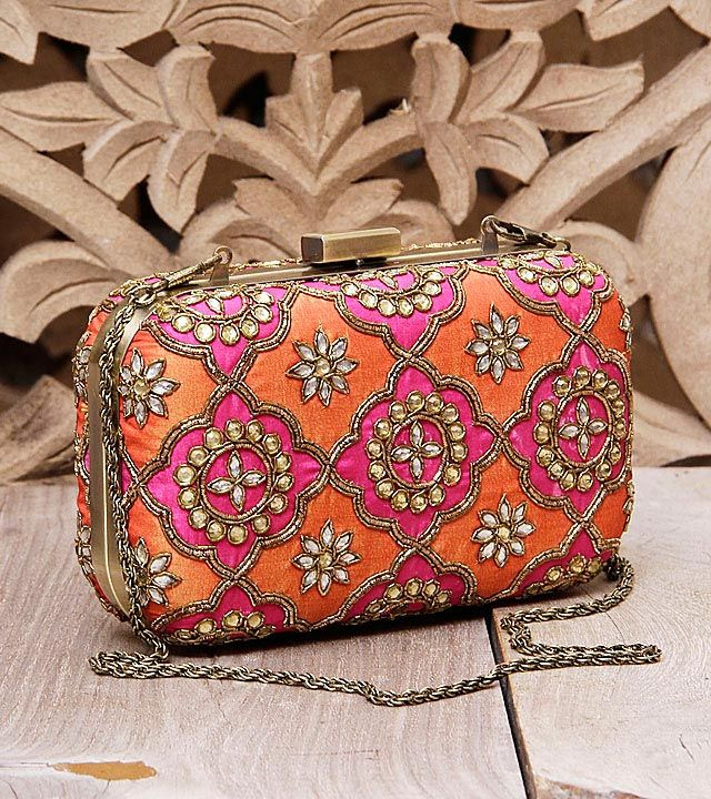 Fancy clutches for Indian Weddings