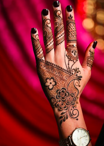 bridal mehendi trends 2018