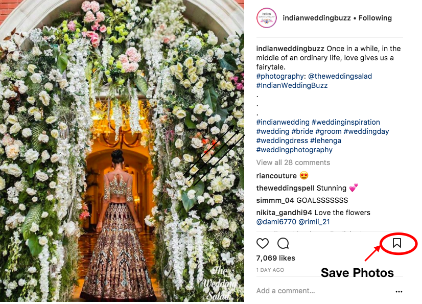 How To Plan Your Indian Wedding With Instagram