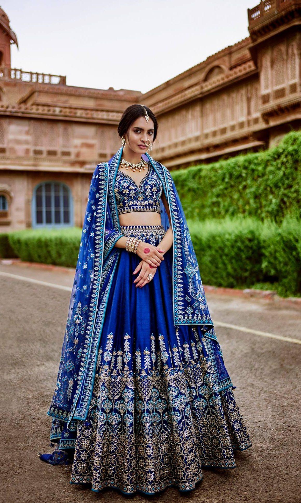 Indian bridal lehenga by Anita Dongre