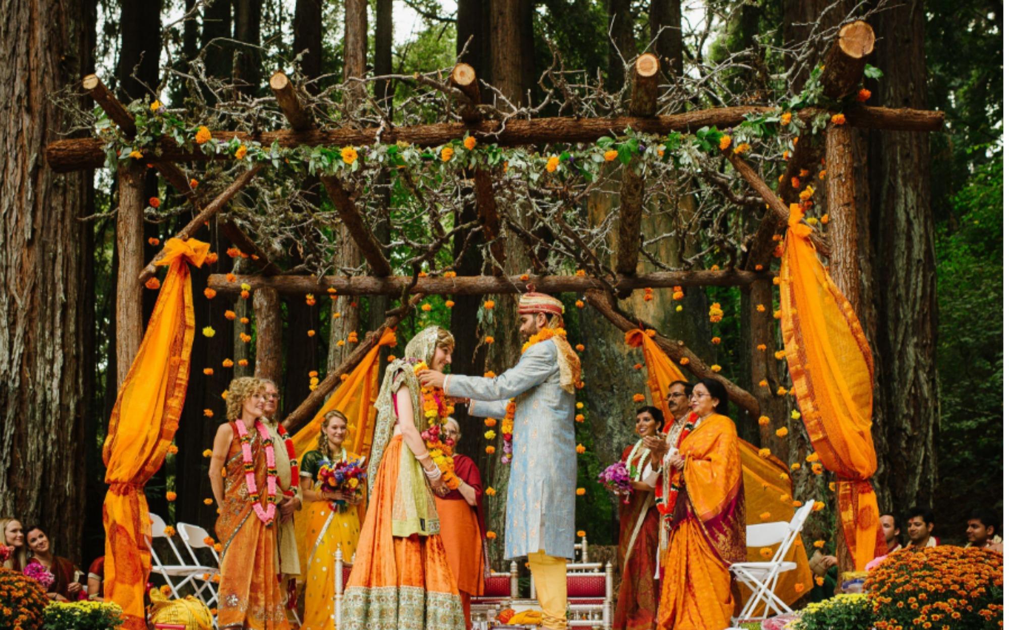 Simple Indian Wedding Ceremony